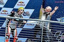 Moto2-Doppelsieg: So feierten Lüthi und Schrötter in Austin