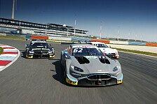 DTM: Aston Martin Vantage bei den Testfahrten am Lausitzring