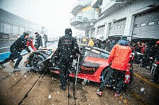VLN 2 versinkt im Schnee: Die besten Nordschleifen-Fotos