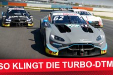 DTM - Video: DTM 2019: So klingen die neuen Turbo-Rennwagen