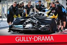 Formel 1 Baku: Williams will Schadenersatz für Gully-Unfall