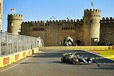 Formel 1 2019 Baku, Training kompakt beim Aserbaidschan GP