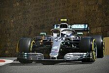Formel 1, Baku-Qualifying: Bottas holt Pole, Ferrari geht K.o.