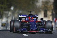 Formel 1, Kvyat feiert Baku-Qualifying: Mit dicken Eiern ins Q3