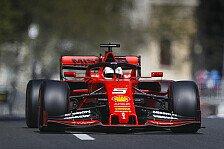 Formel 1 Baku, Ferrari gesteht: Vettel musste Benzin sparen