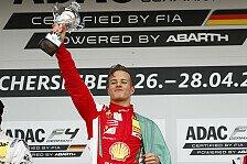 ADAC Formel 4: Petecof feiert überlegenen Start-Ziel-Sieg