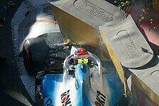 Formel 1 Baku, Kubica erklärt Qualifying-Crash: Nicht der Arm