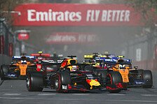 Formel 1 2020: Pirelli veröffentlicht Reifen für Rennen in Baku