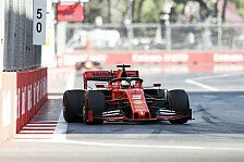 Formel 1 Baku, Vettel: Erster Stint grausam, Fehler um Fehler