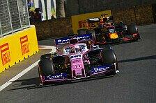 Sergio Perez glänzt in Baku: Red Bull geärgert, McLaren besiegt