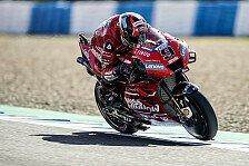 MotoGP Jerez 2019: Petrucci mit Rundenrekord, Rossi in Q1