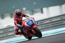 MotoGP: Stefan Bradl testet neue Honda in Jerez