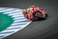 MotoGP-Test Jerez: Marc Marquez holt erste Bestzeit