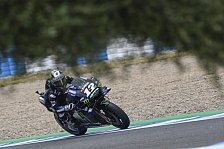 MotoGP-Test Jerez: Chaos in zweiter Session, Vinales voran