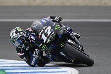 MotoGP-Test Jerez 2019: Vinales am Montag voran, Marquez stürzt