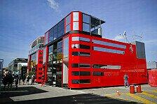 Formel 1 2019: Spanien GP - Motorhomes