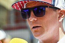 Formel 1 - Kimi Räikkönen: Fühle mich schon seit 15 Jahren alt