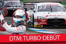 DTM - Video: Renndebüt der neuen DTM-Turboautos 2019