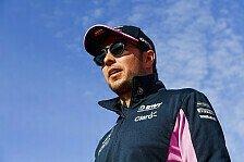 Formel 1, Perez plant Zukunft: Offene Rechnung mit Racing Point