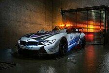 Formel E in Monaco: Neues Safety Car jetzt ohne Dach