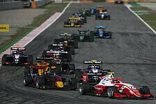 Formel 3 Barcelona Sprintrennen: Daruvala siegt, Crash am Start