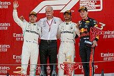 Formel 1 2019: Spanien GP - Podium