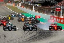 Formel 1, Vettel nach Verbremser: Wollte als Letzter bremsen