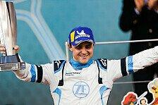 Felipe Massa nach 1. Formel-E-Podium: Will um den Titel kämpfen