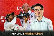 Formel 1 - Fehlings Fundsachen: Dr. Z rockt Podium in Barcelona