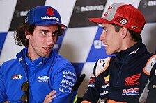 MotoGP - Marc Marquez vs. Alex Rins: Versöhnung nach Q2-Zoff