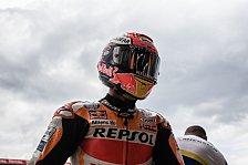 MotoGP Le Mans 2019: Marquez-Sturz in nassem FP4, dann Bestzeit