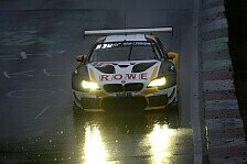 24h Nürburgring: Rowe Racing mit Bestzeit im nassen Training