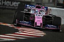 Formel 1 Monaco 2019: Sergio Perez fährt fast Streckenposten um