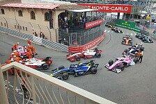 Formel 2 Monaco: Schumacher-Crash führt zu Rot, de Vries siegt
