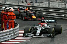 Formel 1 Monaco: Hamilton gewinnt Zitterpartie gegen Verstappen