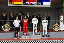 Formel 1 2019: Monaco GP - Podium