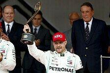 Formel 1 Monaco - Valtteri Bottas: Hatten Glück im Unglück