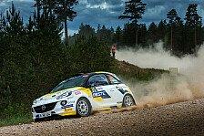 ADAC Rallye Cup: Unfälle für ADAC Opel Rallye Junior Team
