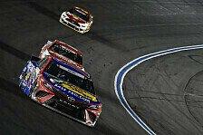 NASCAR Charlotte: Martin Truex Junior gewinnt Nacht-Marathon