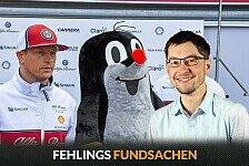 Formel 1 - Bilderserie: Monaco GP - Formel 1 - Fehlings Fundsachen: Jubilar Kimi hart bestraft