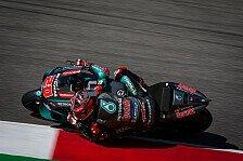 MotoGP Mugello 2019:Fabio Quartararo im 4. Training voran