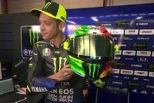 MotoGP: Valentino Rossi - alle Mugello-Spezialhelme seit 2001
