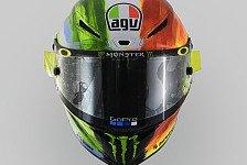 MotoGP: Valentino Rossis neues Helm-Design für Mugello