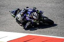 MotoGP Mugello: Vinales holt FP1-Bestzeit, Marquez weit zurück
