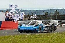VW knackt Elektro-Rekord auf der Nordschleife