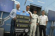 Mehr Sportwagen - Video: Rekord auf der Norschleife: VW fährt schnellste Elektro-Runde