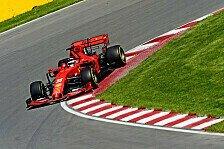 Formel 1 Kanada: Neugieriger Vettel sieht kein Ferrari-Comeback