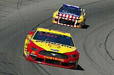 NASCAR Michigan: Starker Joey Logano gewinnt Monday-Night-Race