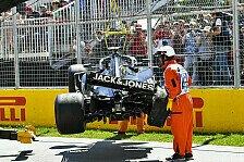 Formel 1 Kanada, Magnussen-Chassis kaputt: Start aus der Box