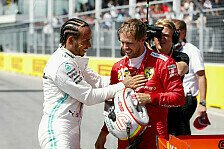 Formel 1, Hamilton chancenlos: Vettel-Pole dank Ferrari-Power
